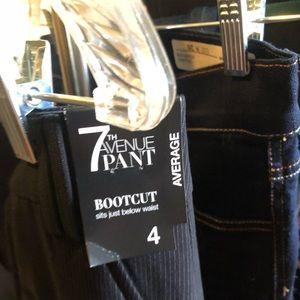 Pinstripe work pants